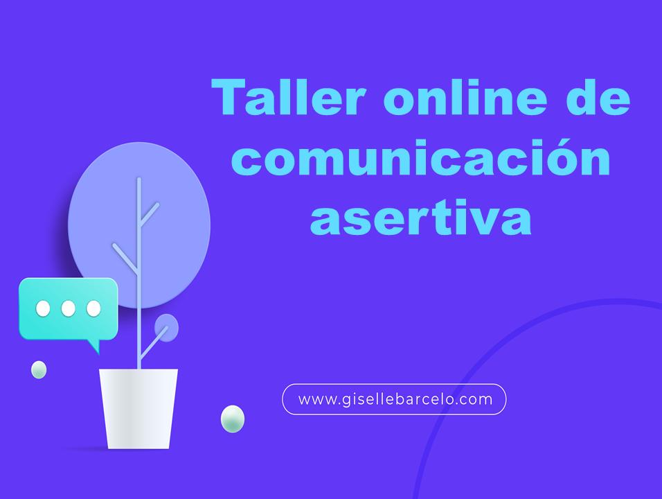 Taller online de comunicación asertiva