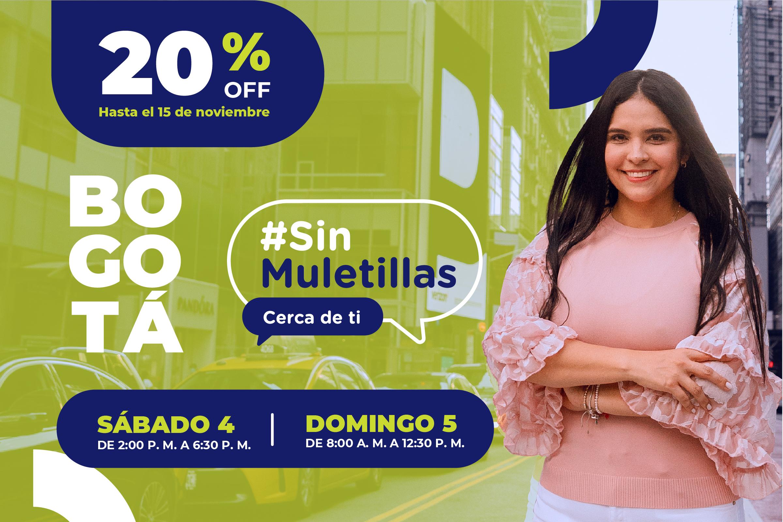 #SinMuletillas, cerca de ti.